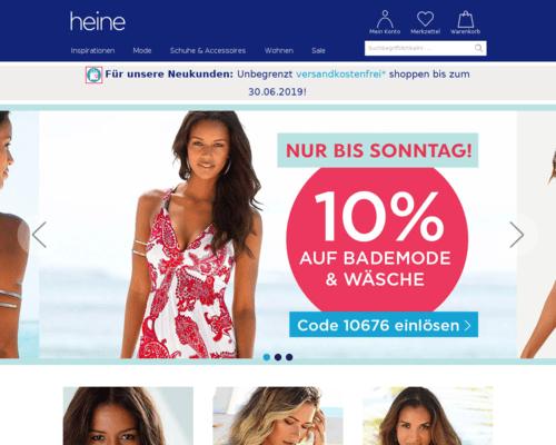 Heine Katalog Bestellen Kostenlos Teknort