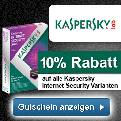 Kaspersky Gutschein