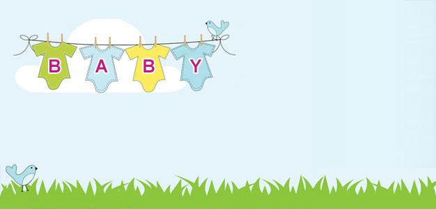 Gutscheinvorlage und Vordruck zur Geburt: Gutschein zur Geburt oder ...
