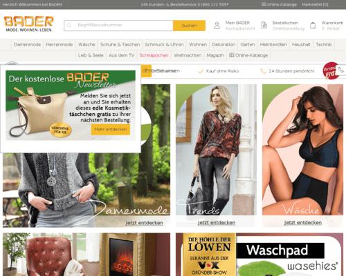 8118ad504f04ed Bader Katalog bestellen oder online blättern