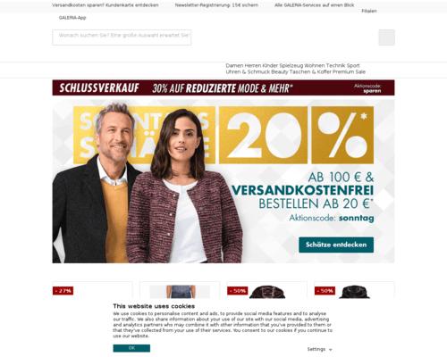Galeria Kaufhof Mitarbeiterrabatt Online Shop
