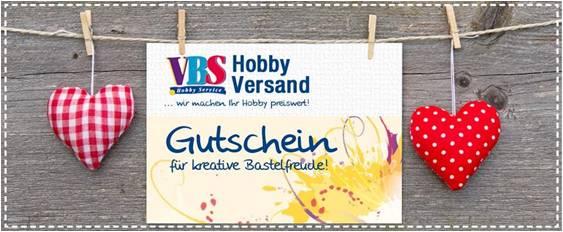 Vbs Hobby Gutschein