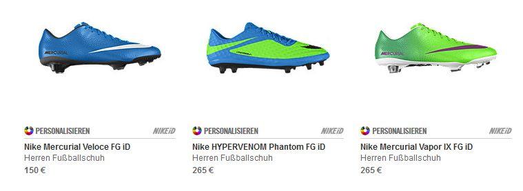 Nike Fussballschuhe Nach Mass Gutscheinrausch