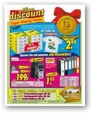Büroartikel Office Discount Katalog