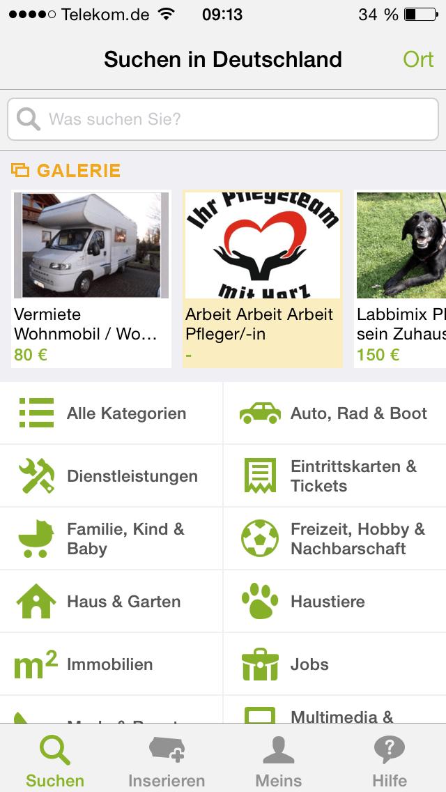 Ebay Kleinanzeigen App Für Iphone Android