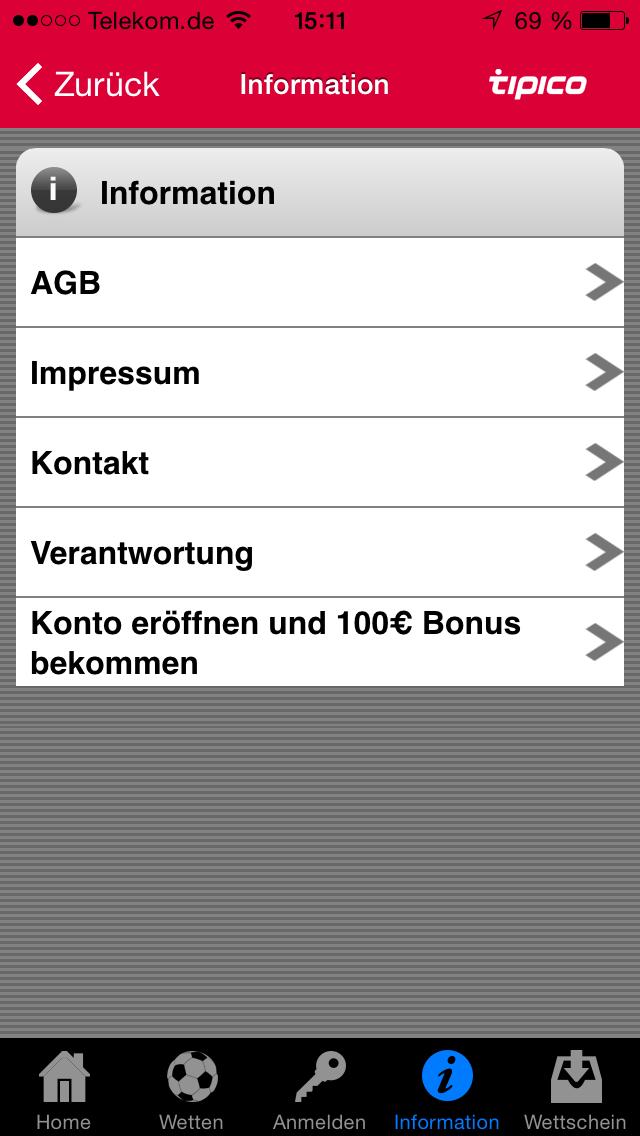 Tipico.De App
