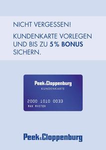 Peek Und Cloppenburg Online Gutschein