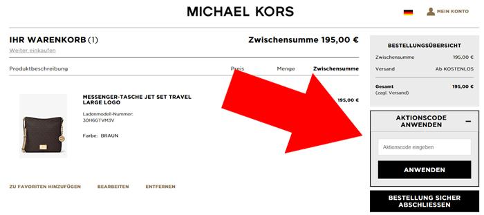 Michael Kors Gutschein November 2019 → 50 % Gutscheincode