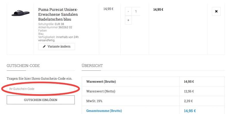 Sneakerprofi Gutschein Okt. 19 → 15€ Gutscheincode + 7 weitere