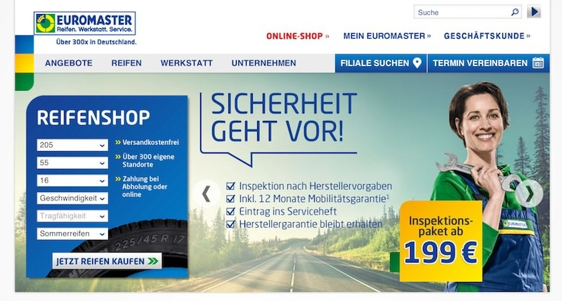 euromaster kundenservice