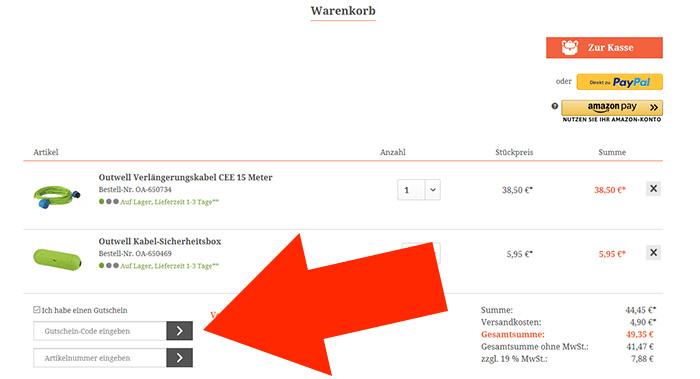 6ec04a979d234c Campingshop-24 Gutschein Mai 19 → 50 % Gutschein + 1 weiterer