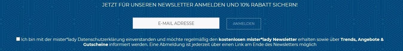 22427ce1f09c1 Mister-lady Gutschein August 2019 → 70 % Gutschein + 7 weitere