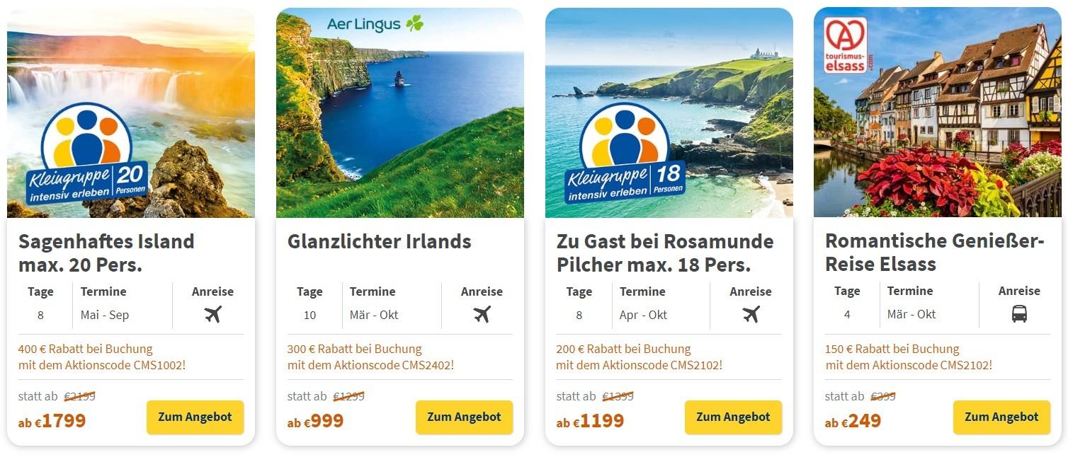 trendtours Gutschein Mai 2021 → 400€ Gutscheincode + 5 weitere